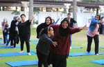 Health activities on World Cancer Day